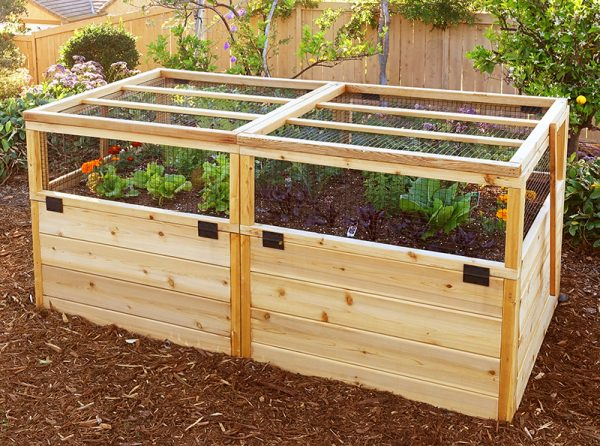 3u0027x6u2032 Convertible Raised Garden Bed