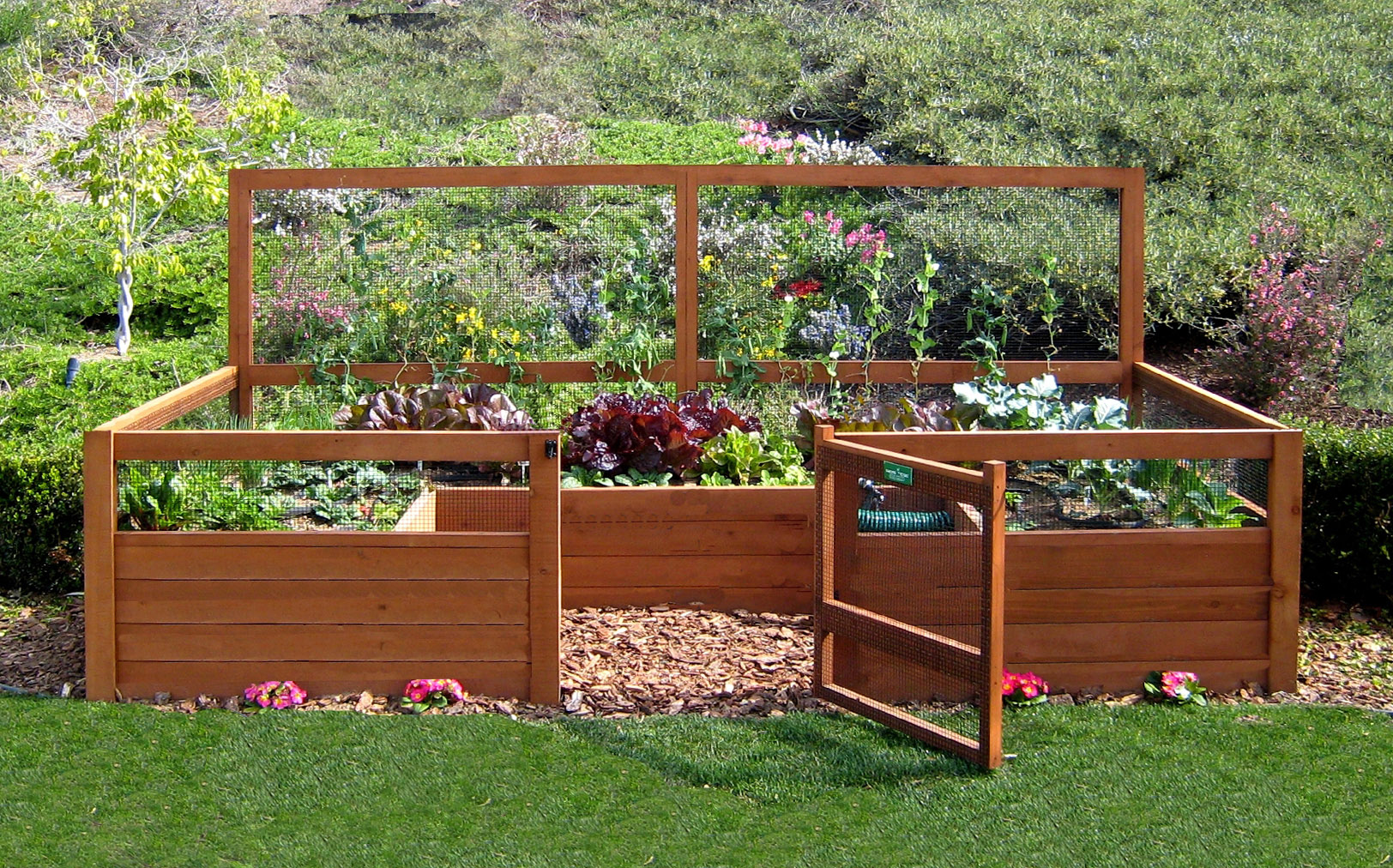6 X12 Just Add Lumber Vegetable Garden Kit Gardens To Gro