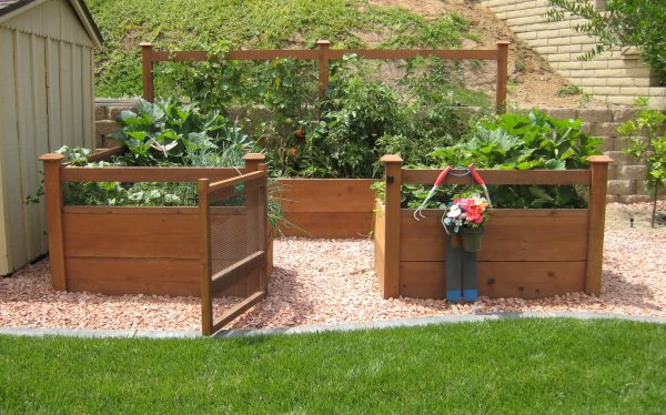 Beau 8u0027x12u2032 Just Add Lumber Vegetable Garden Kit