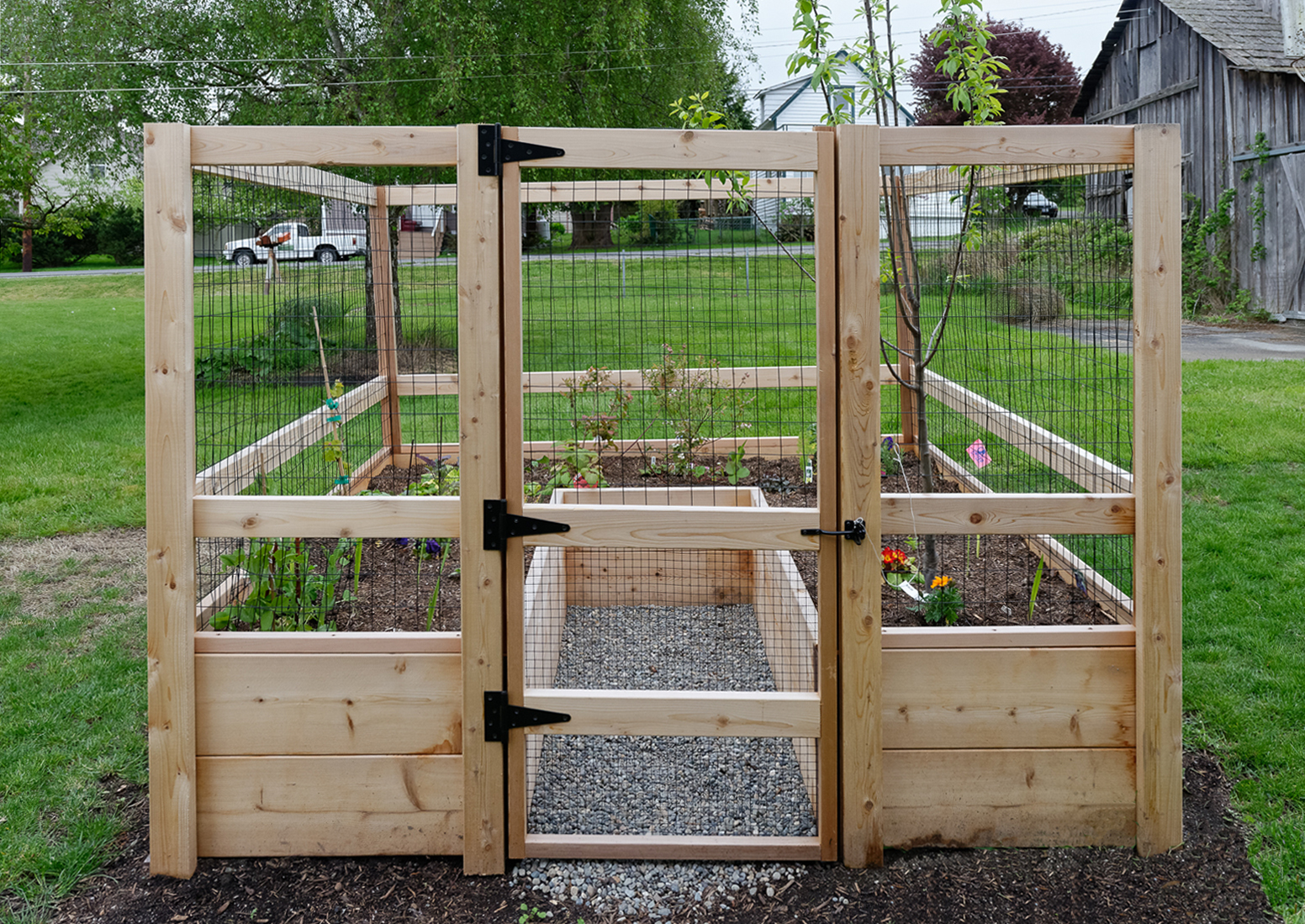 Deer Proof Vegetable Garden Ideas vegetable garden photo gallery – gardens to gro