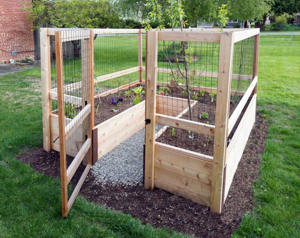 Genial 8u0027x8u2032 Just Add Lumber Vegetable Garden Kit U2013 Deer Proof